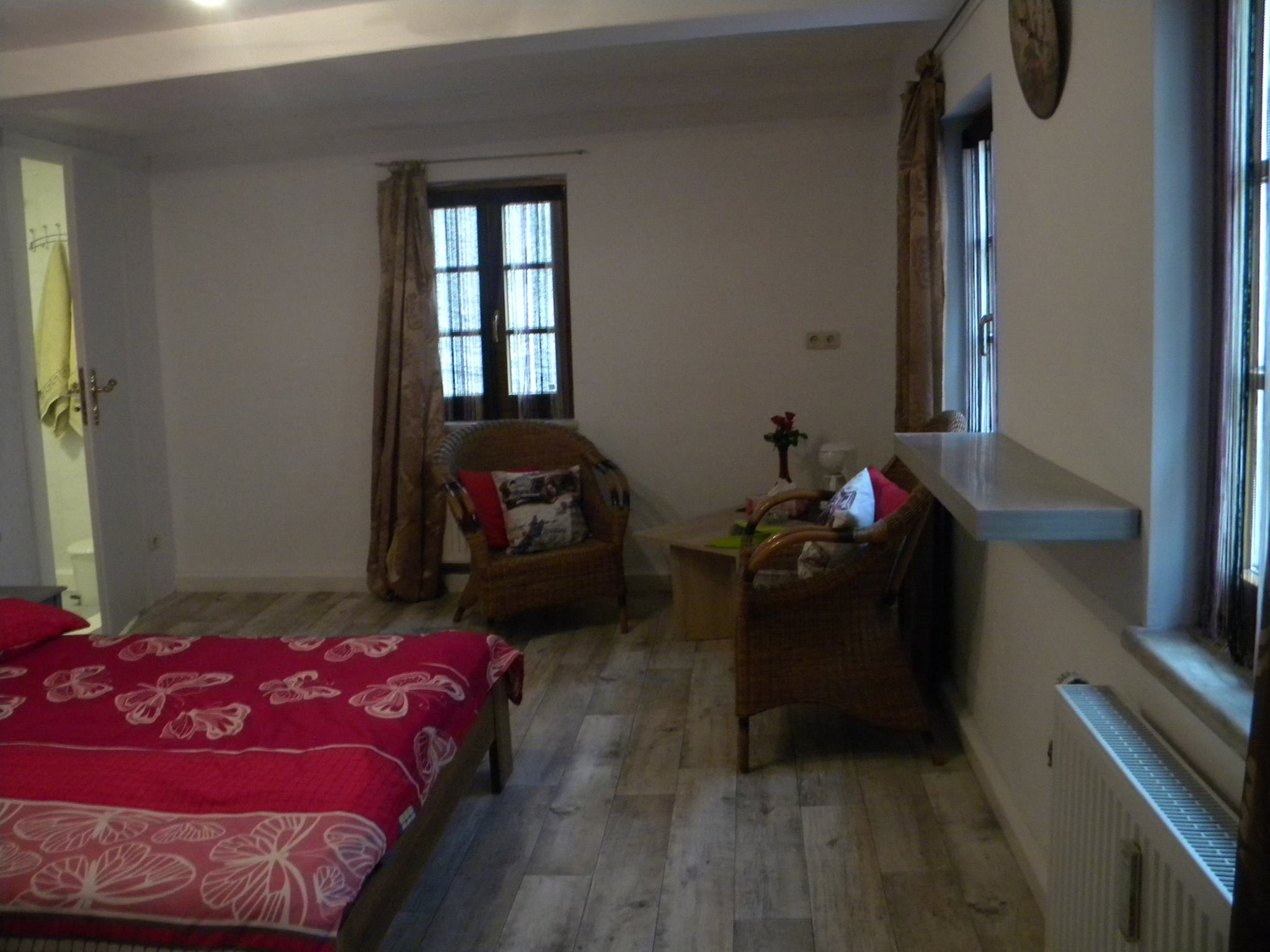 Kamers bb ferienhaus bed and breakfast hans en hannieb b hans hannie - Romantische kamer ...